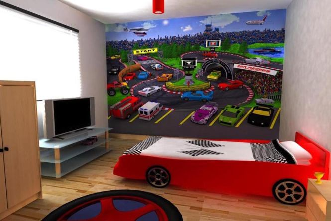 1000 Images About Boys Room On Pinterest Cars Jungle Bedroom. Children S Car Themed Bedroom Furniture   Bedroom Style Ideas