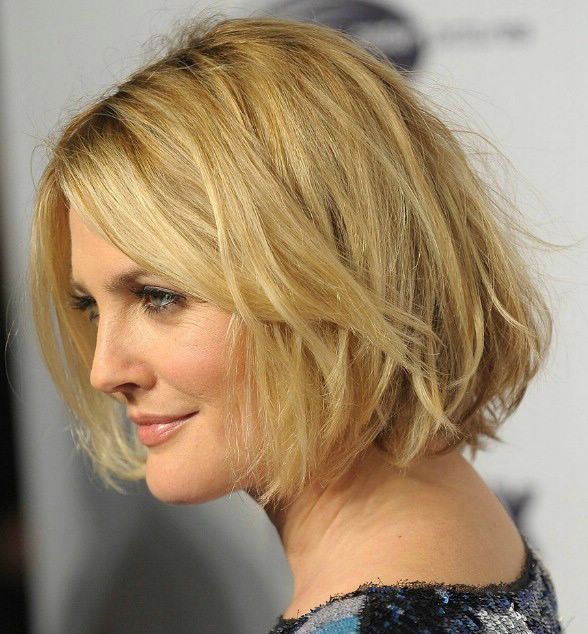 Medium To Short Hairstyles For Square Faces Cut