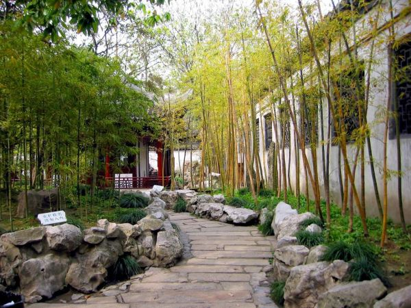 japanese gardens with bamboo Photo of bamboo in the garden number 5174 | Gardening