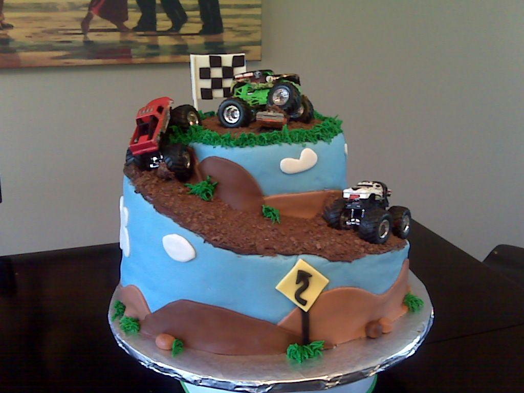 Monster Truck Cake Ideas