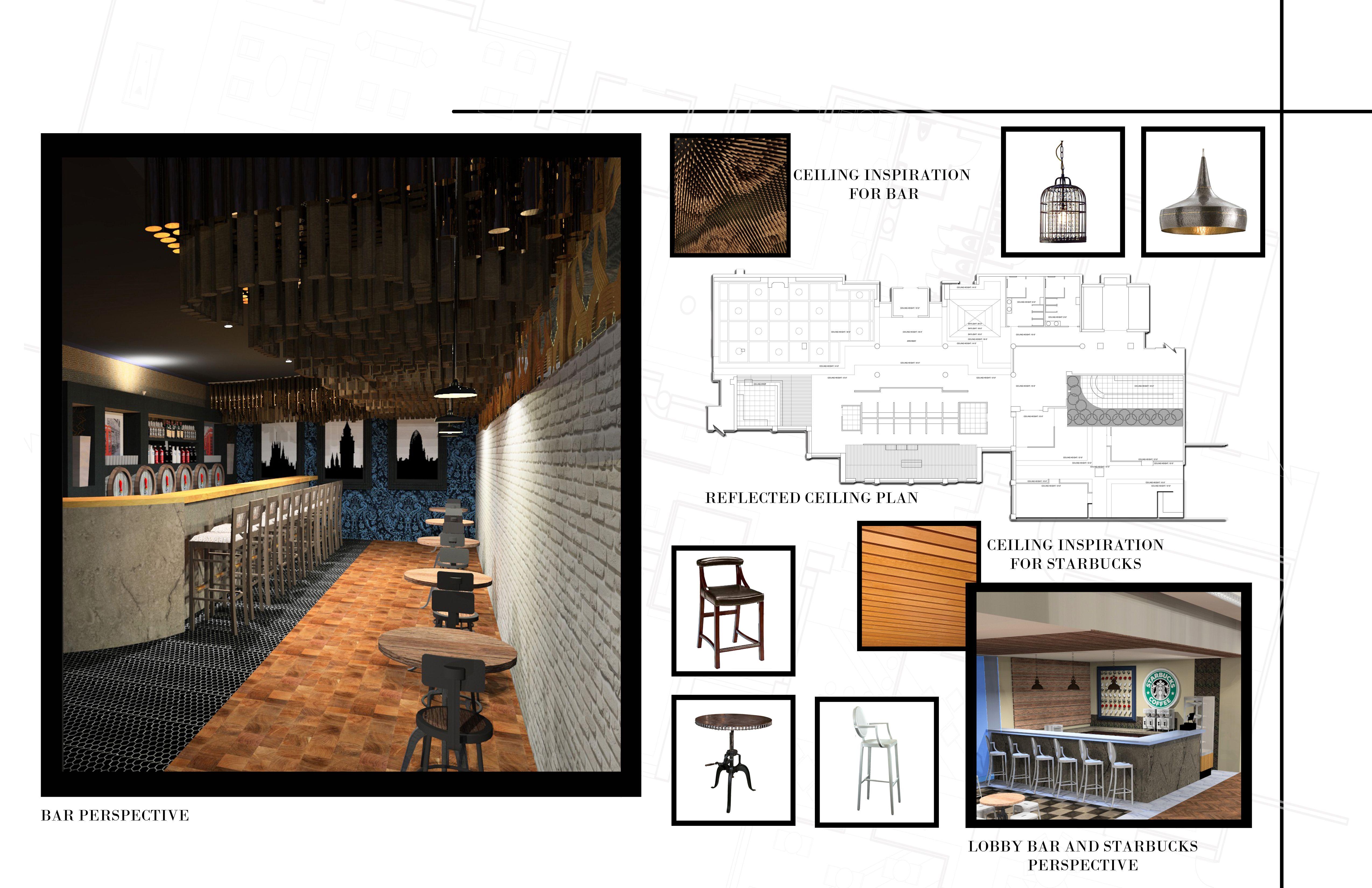 25 Beautiful Interior Design Student Portfolio Examples