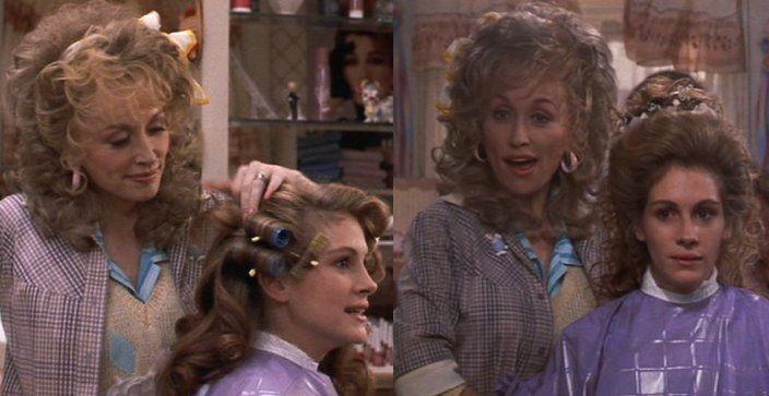 Steel Magnolias 1989 Dolly Parton Runs A Beauty