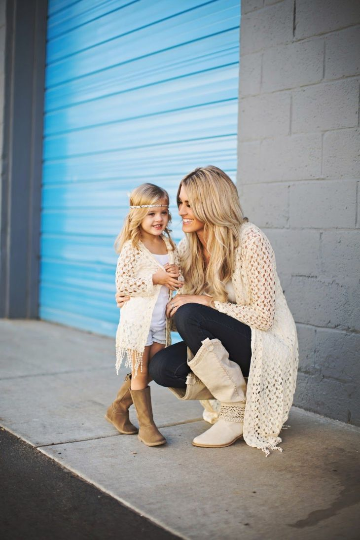 Mommy and Me outfit  Baby kids  Pinterest  Daughters Little