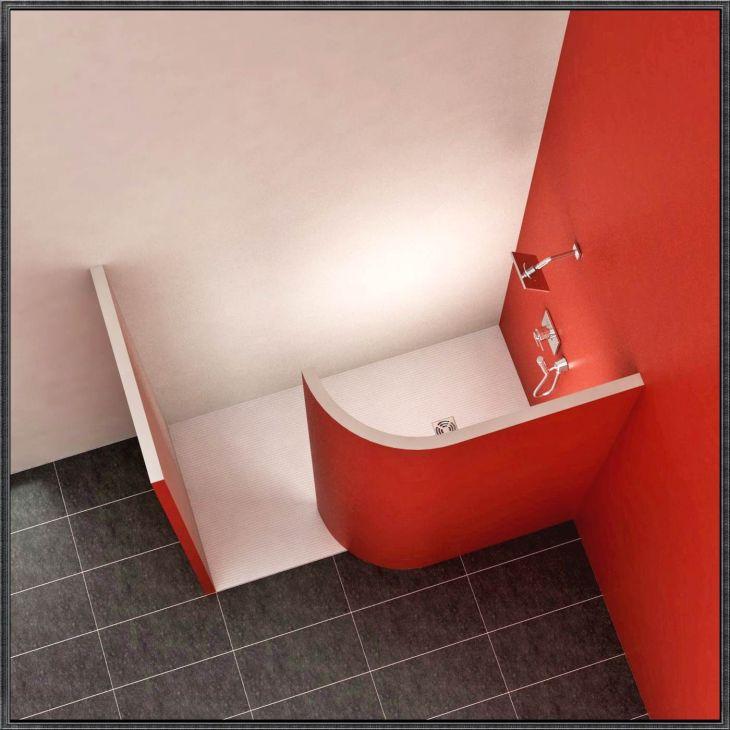 gemauerte dusche ohne glas  GoogleSuche  Kleine Johannes