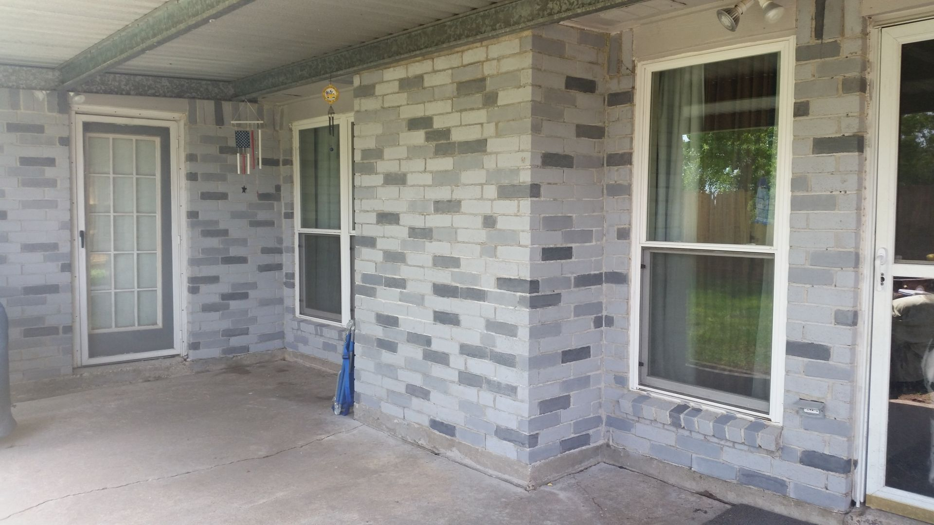 Brick Cleaning Brick Staining Brick Improvement Ideas