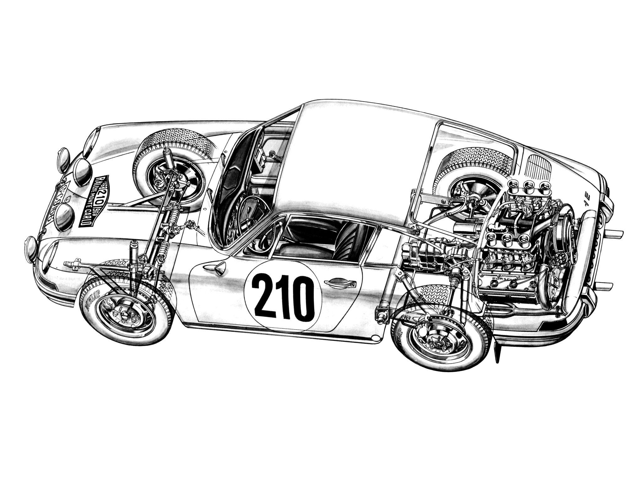 V6 Engine Dimensions