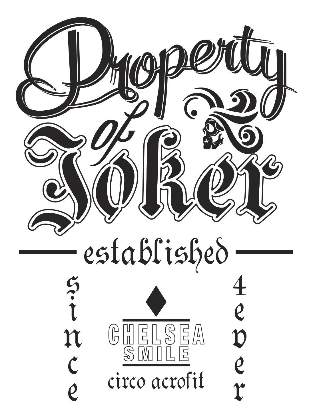Property Of Joker Vector