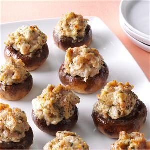 Best-Ever Stuffed Mushrooms Recipe -Every Christmas Eve, I bring out my mushroom marvels. If you don't have mushrooms, spread the