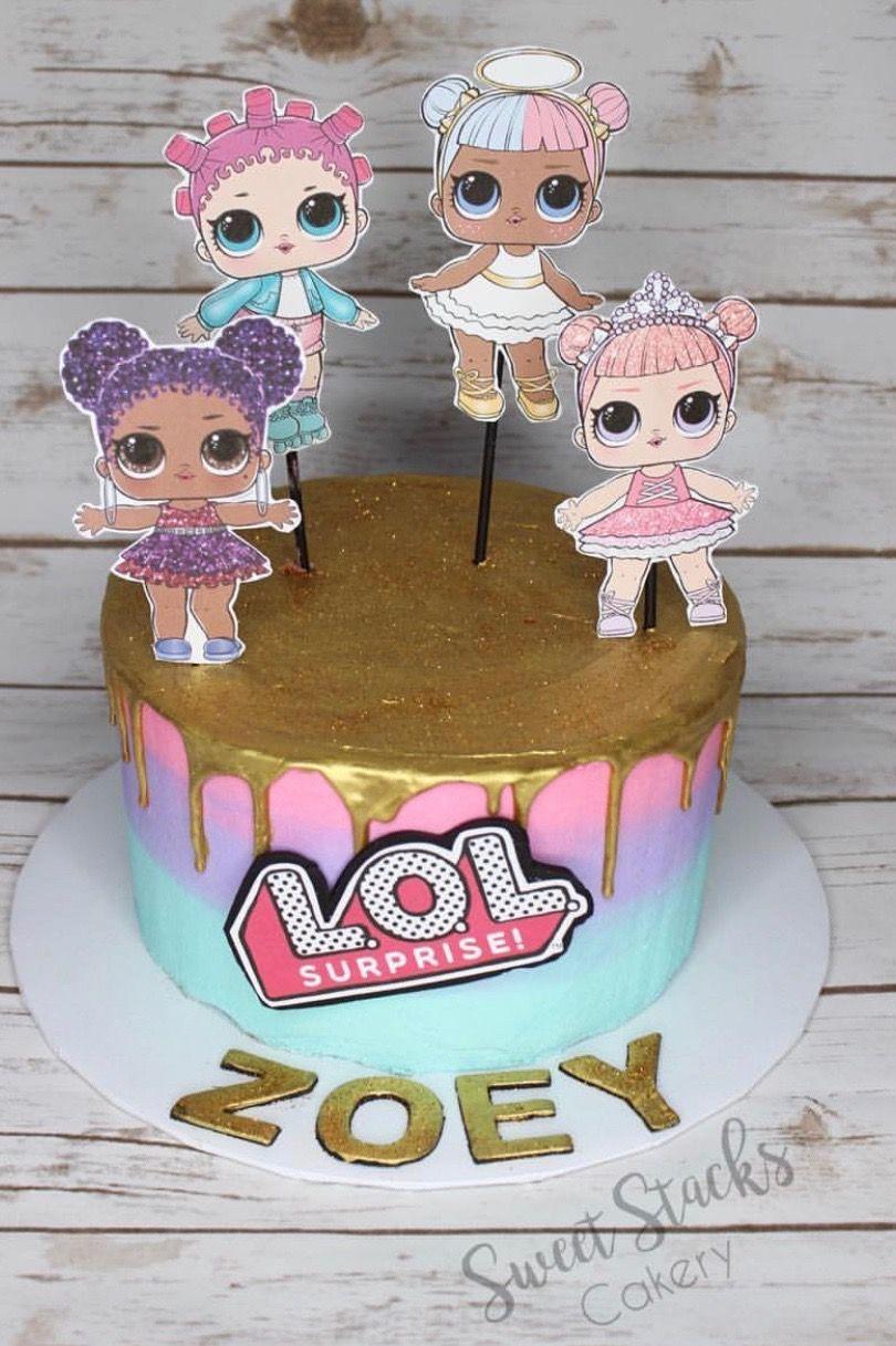 Lol Surprise Dolls Birthday Cake Lol Pinterest Birthday Cakes