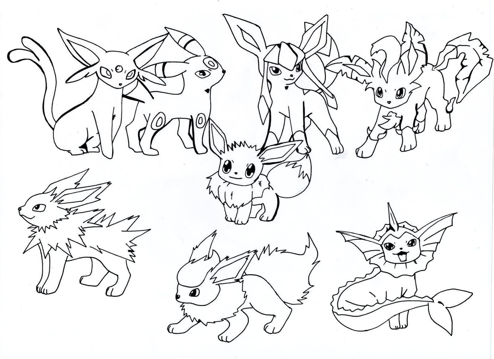 Disegni Da Colorare Di Pokemon X E Y