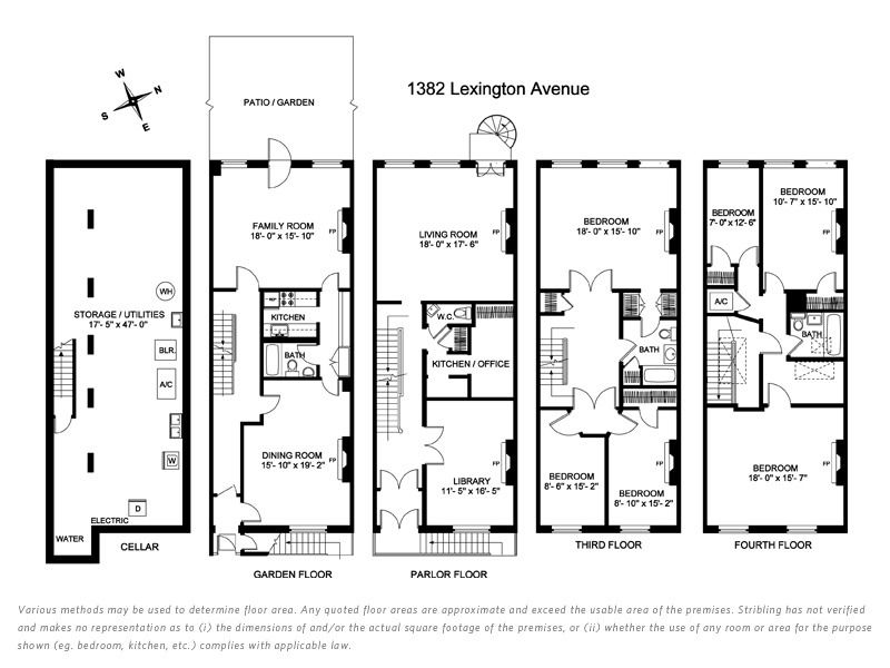 Go Back > Gallery For > Historic Brownstone Floor Plans