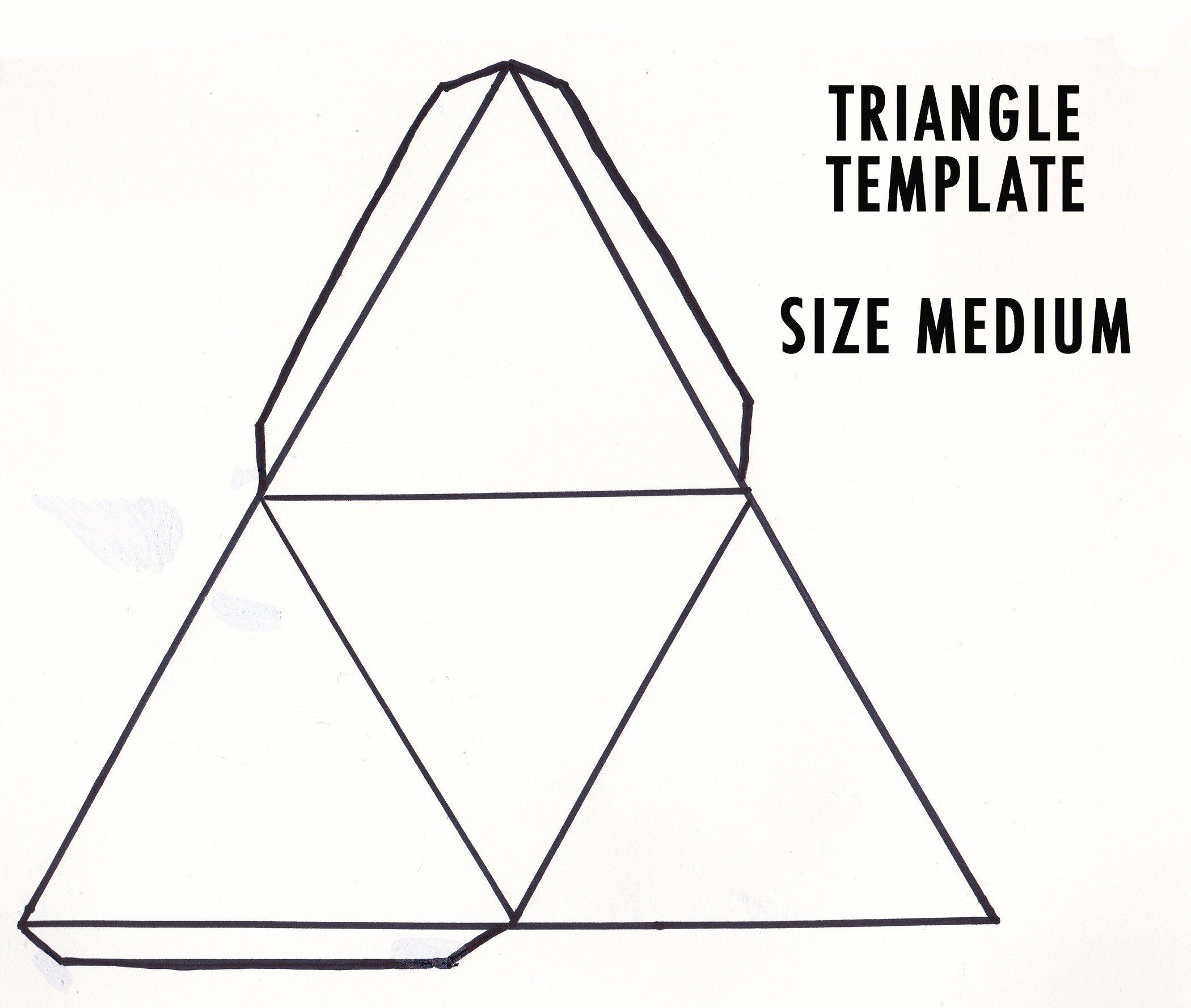 Triangle Paper Temple