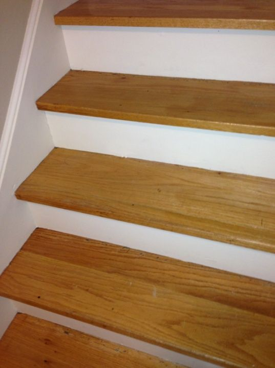 Image Result For Replacing Carpeted Stairs With Wood Treads