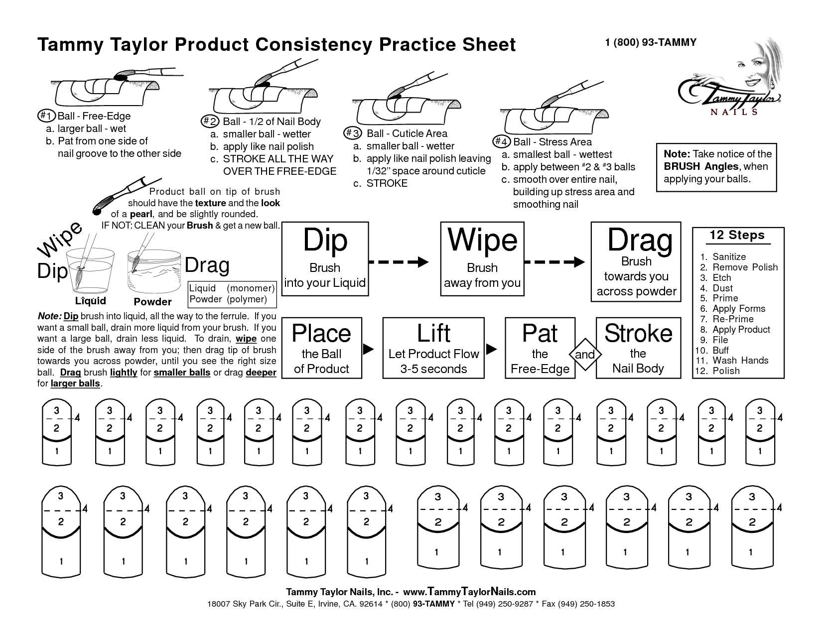 Tammy Taylor Practice Sheets Free Download