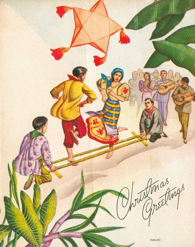 Pinoy Kollektor 79 1960s Native Philippine Christmas