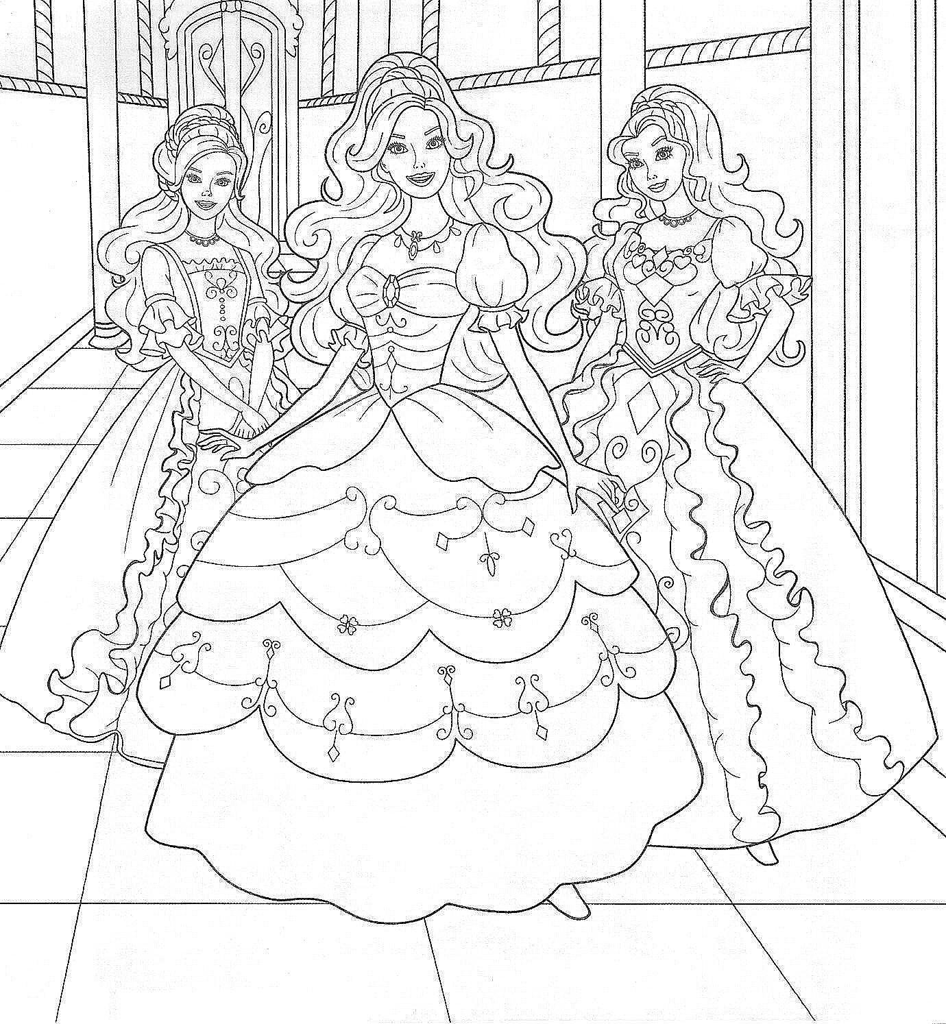Barbie Mermaid Coloring Pages Games