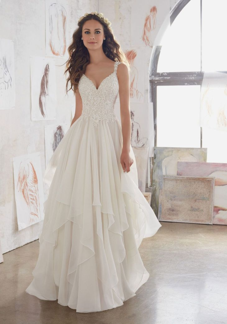 Morilee by Madeline Gardner uMaryu   This Boho Inspired Gown