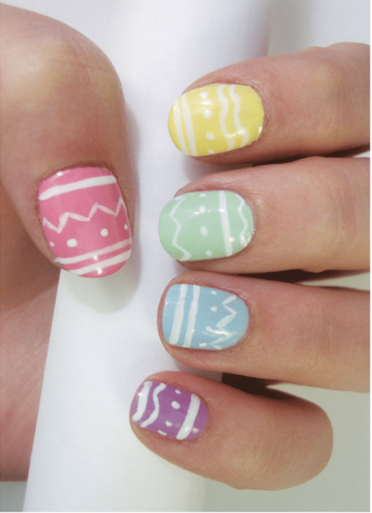 42 Pretty Easter nail art design ideas 1 | Top Ideas To Try ...