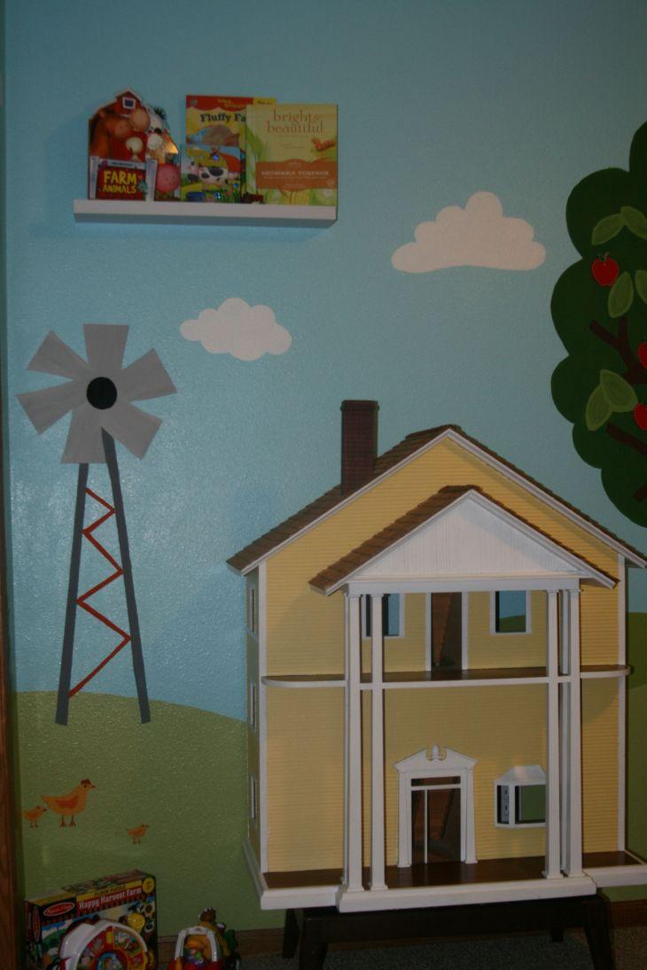 Quinnus farm room at Omaus house  Farmhand chic  Pinterest  Room