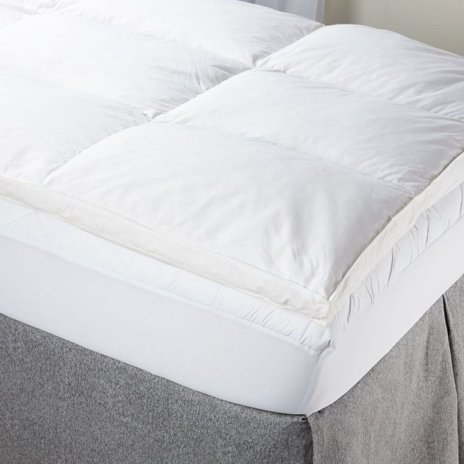 Twin Xl Feather Bed Mattress Topper