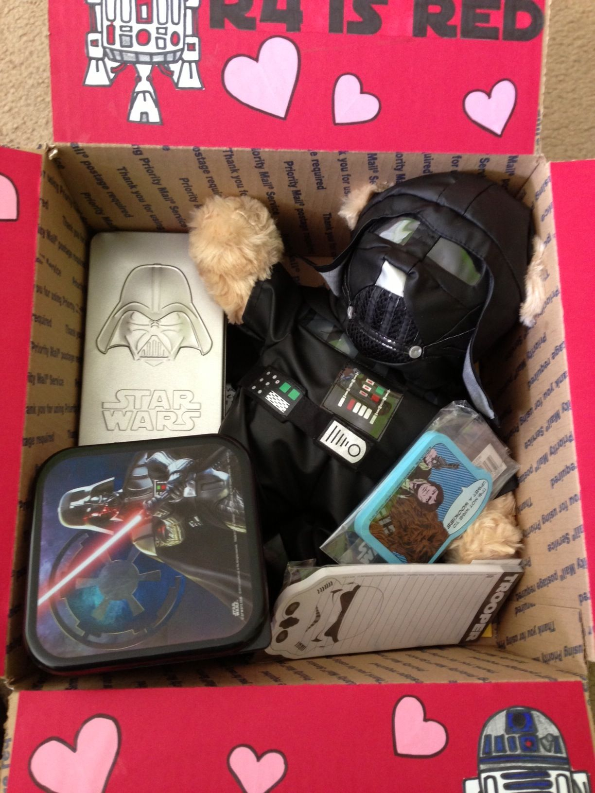 Star Wars Valentines Day Care Package Most Of The
