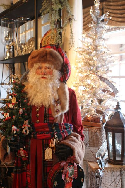 Old World Santa From Romancingthehomeltdblogspotcom