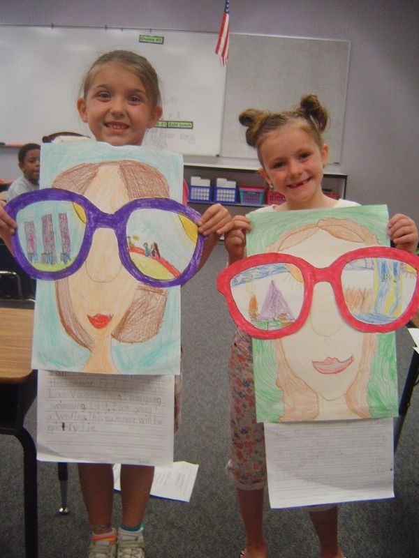 End of the Year Projects (Mrs. T's First Grade Class)