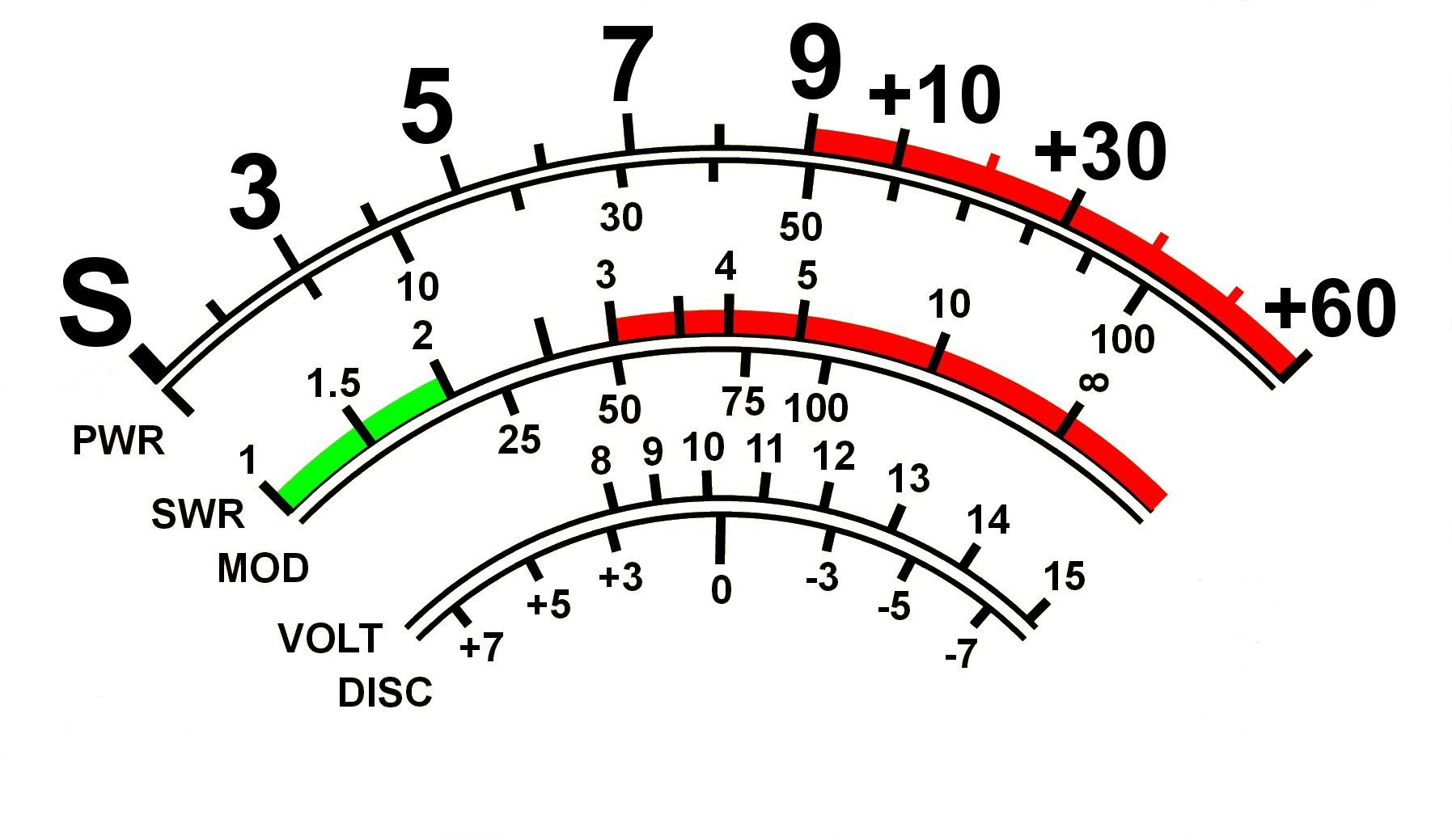Ft 857 Ft897 Meter White Plain V Large Digits X