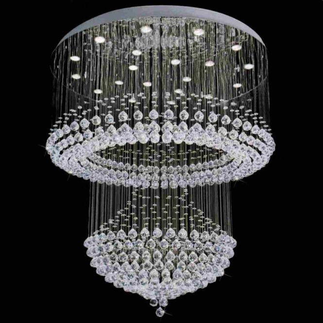 Impressive Most Beautiful Chandeliers Luxurious Crystal Chandelier In Modern