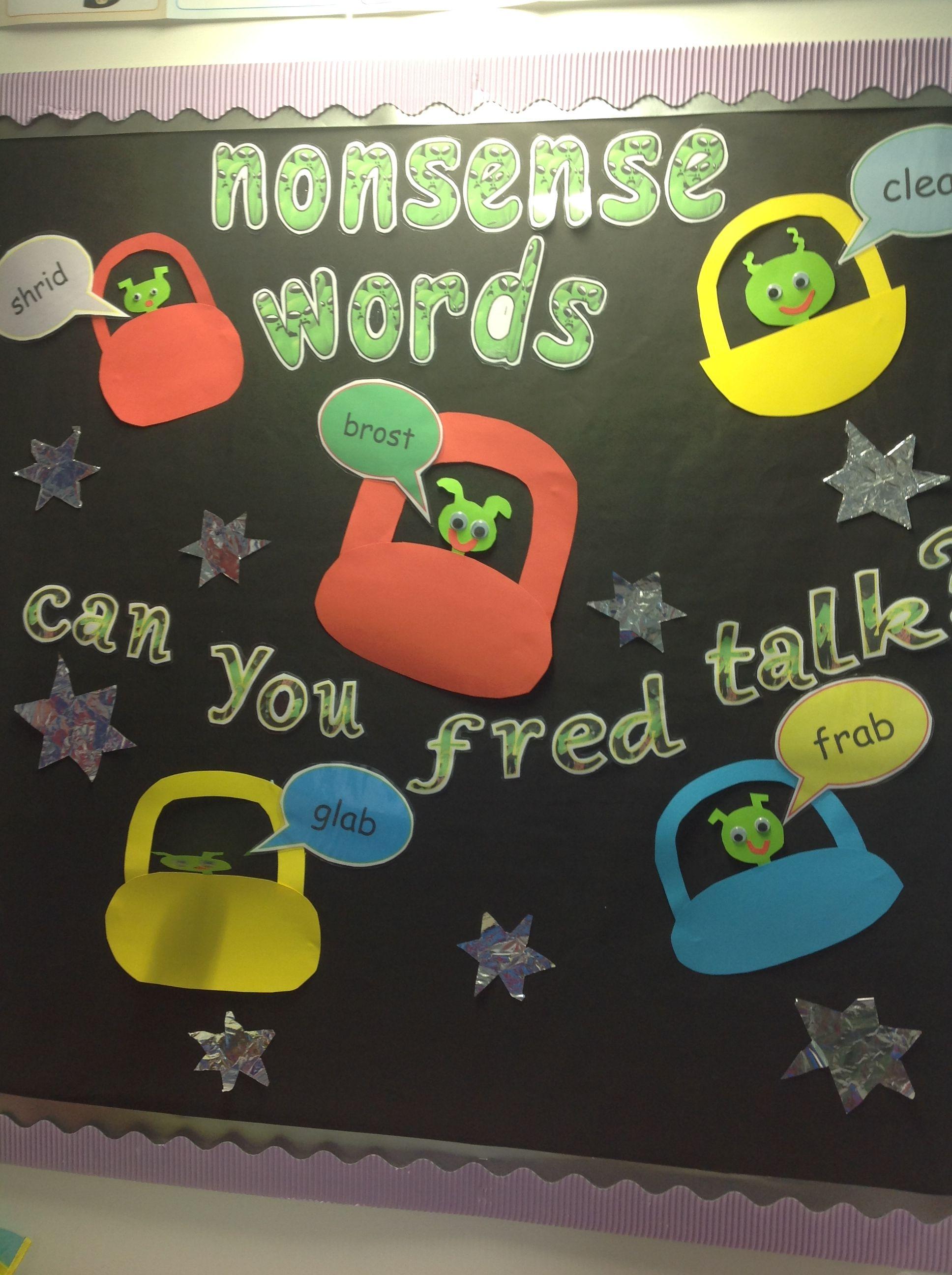 Rwi Teaches Nonsense Words To Help Children Decode