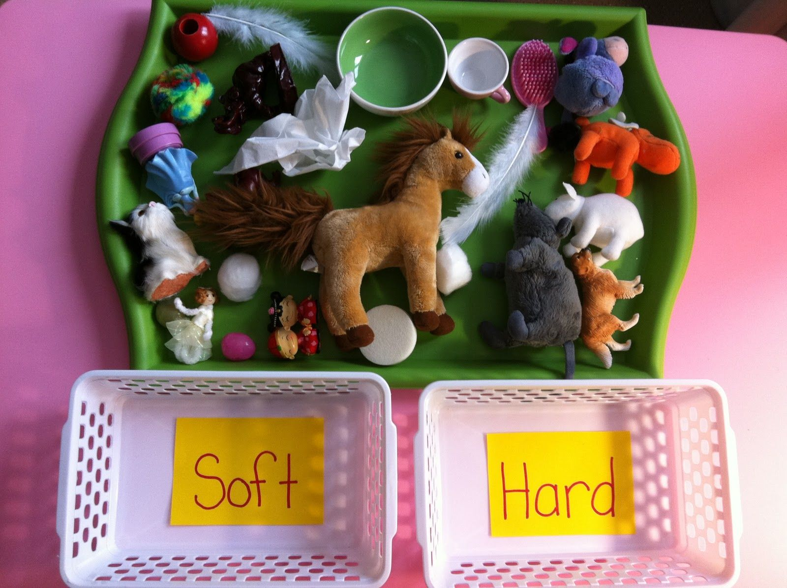 Sorting Objects By Attributes Hard Vs Soft Children Can