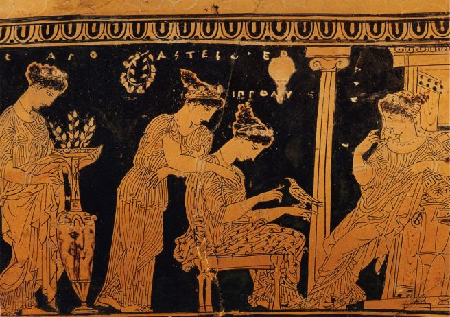 Image result for Ancient Greek Love Vase