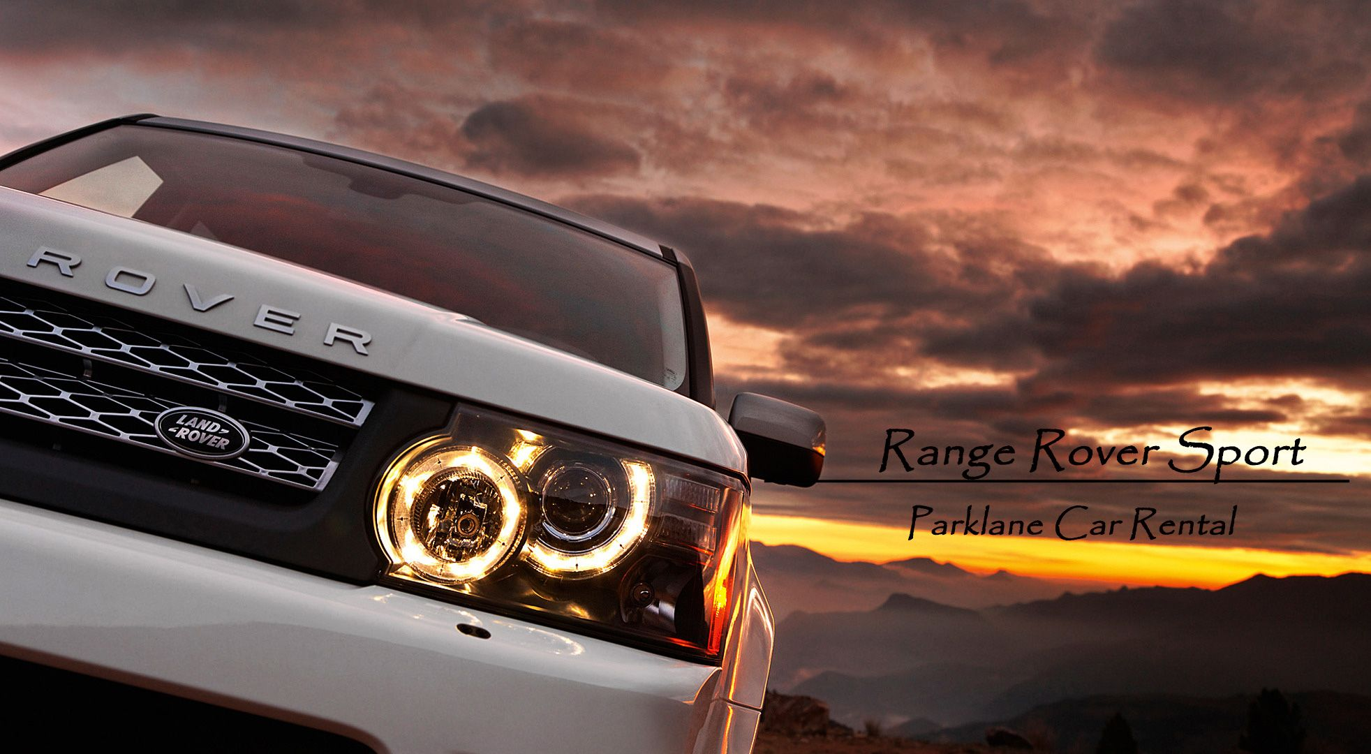 Range Rover Sport Find the Sport in you Rent Range Rover Sport