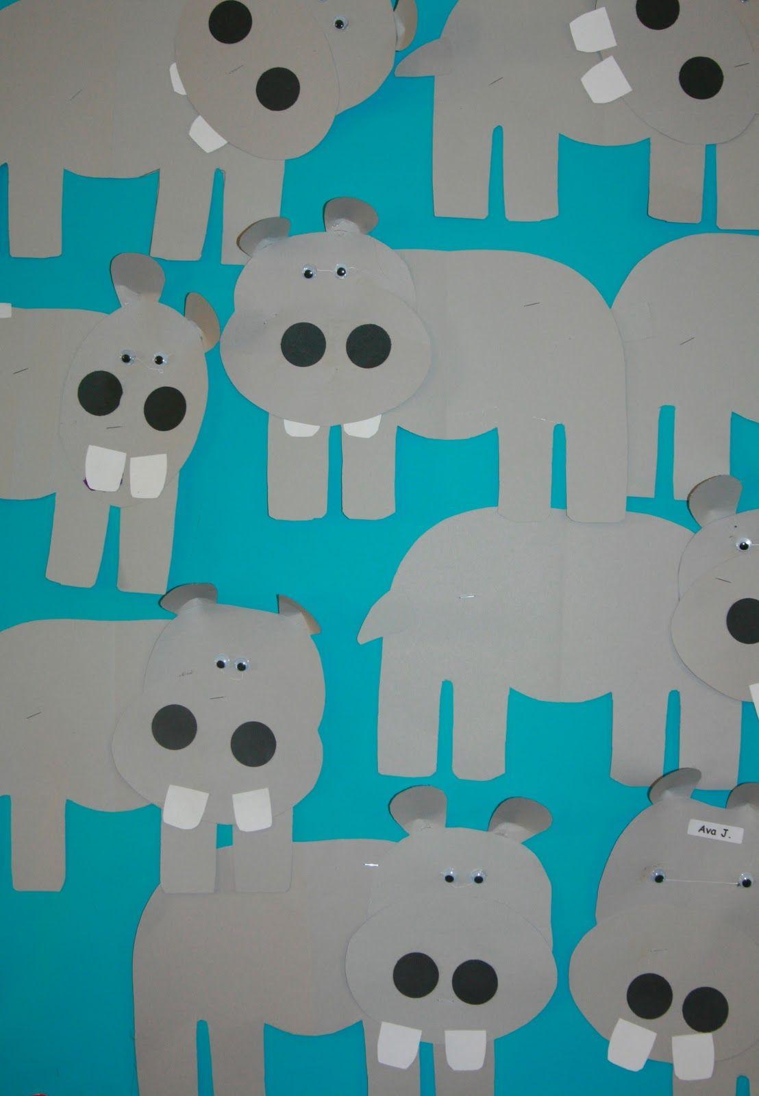 Nancy Nolan S Kindergarten Letter H Week Humongus Hippos