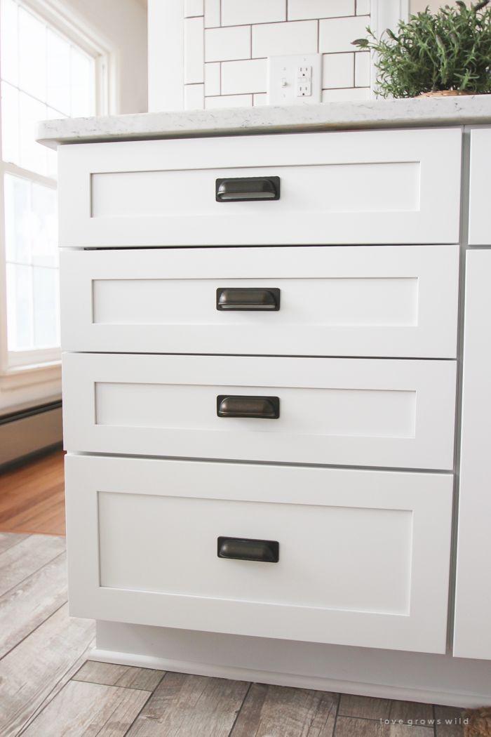 kitchen makeover cabinets farmhouse kitchens oxfords and hardware on farmhouse kitchen hardware id=52990
