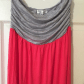Pink dress with jean jacket  Extremely long maxi dress  Chaquetas Rosa y Maxis