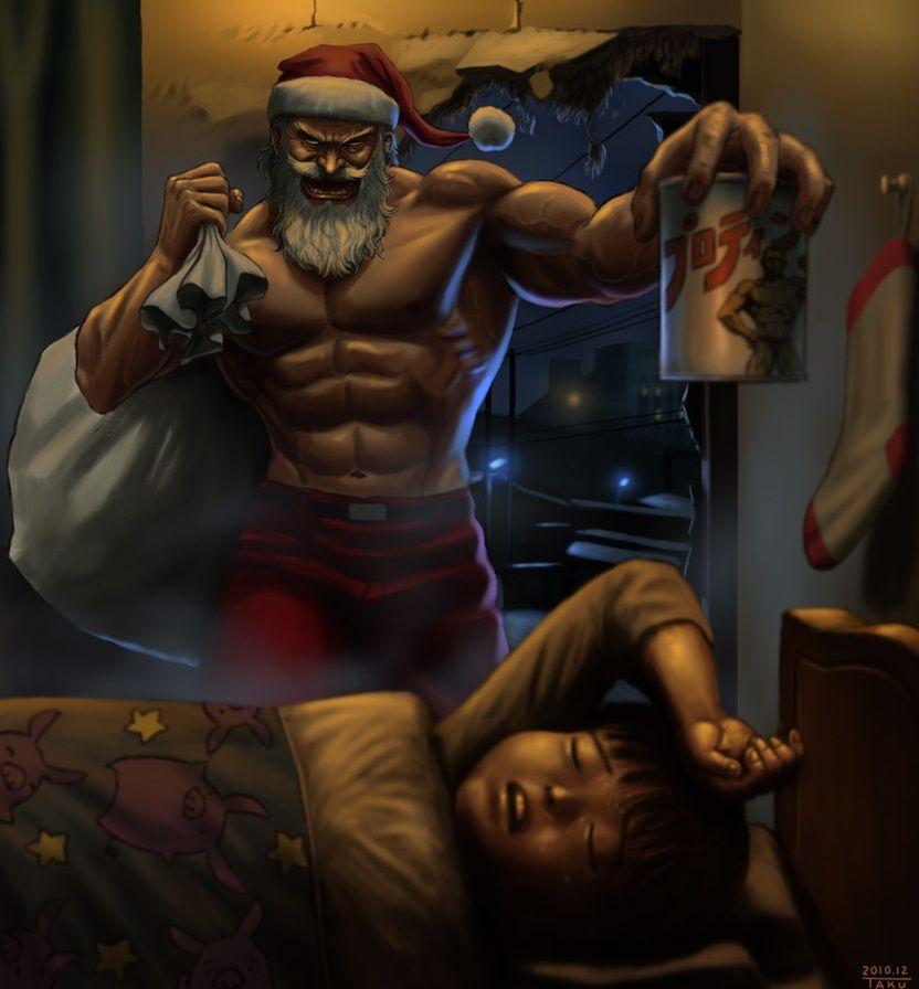 Creepy Santa Claus Christmas Anime Wallpaper Anime Blog