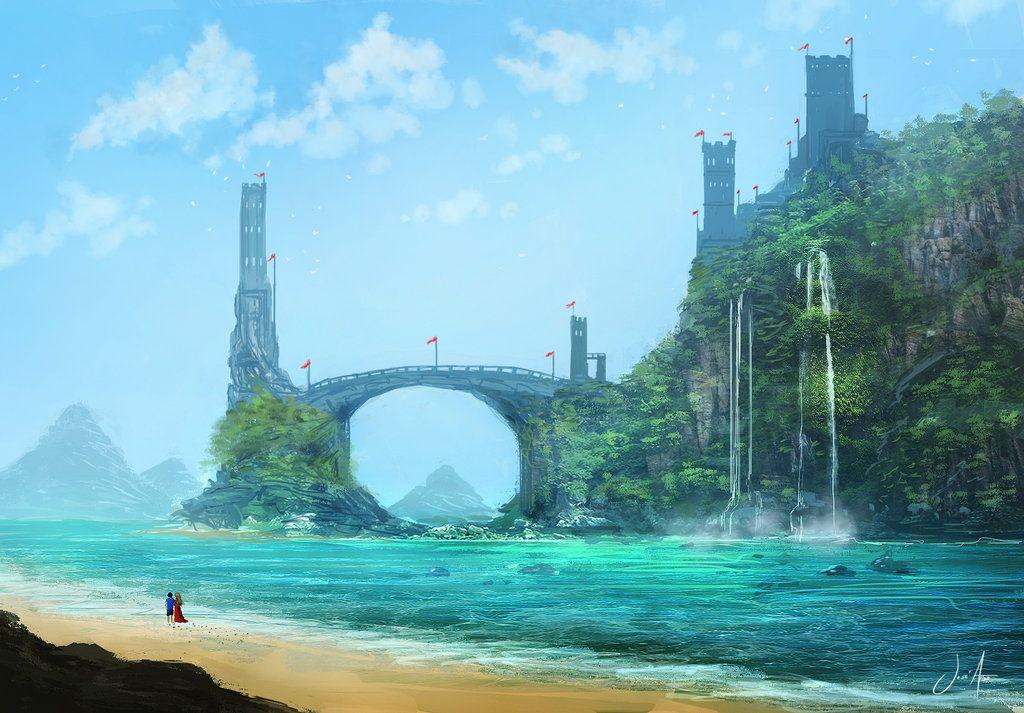 Tropical Island By JoseAriasdeviantartcom On DeviantART