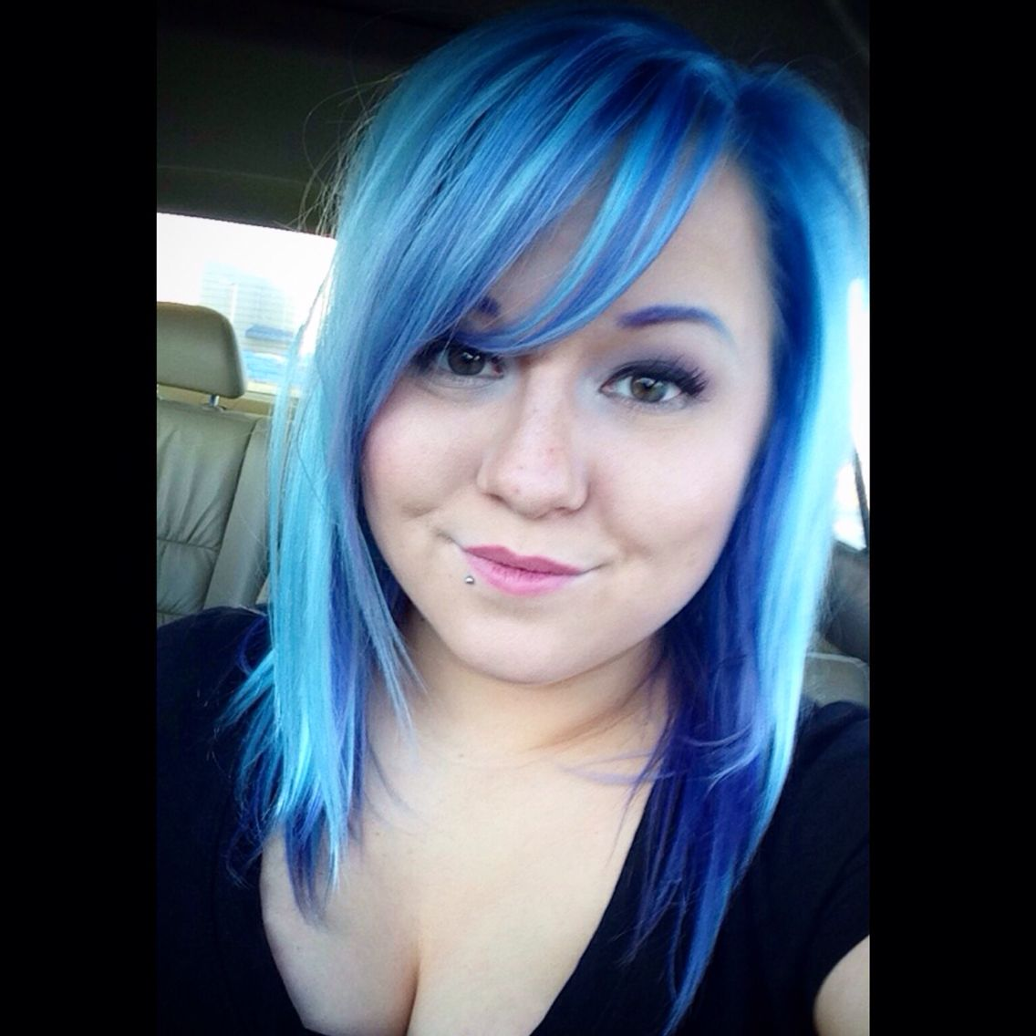 Blue Hair Ion Color Brilliance Brights Semi Permanent Hair Color Llybeauty On