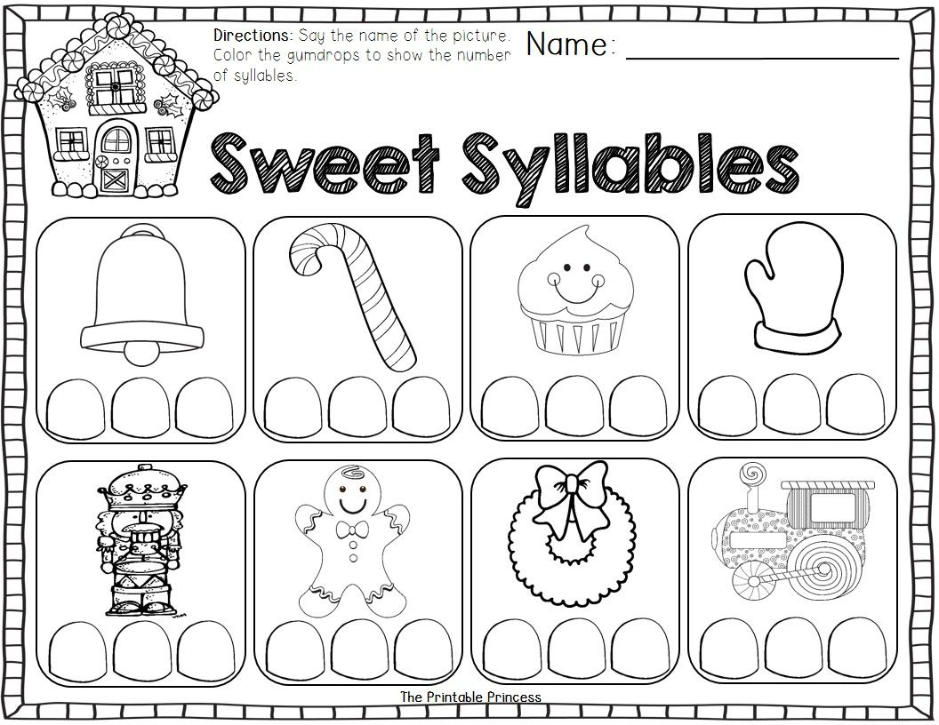 December Activities And Printables For Kindergarten