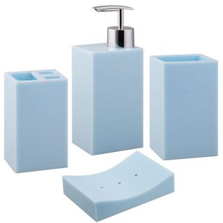 mesmerizing light blue bathroom accessories images - best idea
