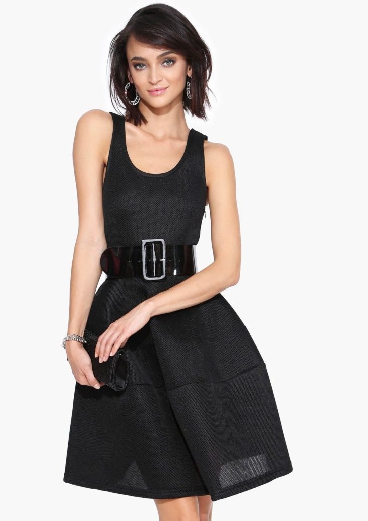 Adorable Classic Little Black Dress  wear all year long Add a cute