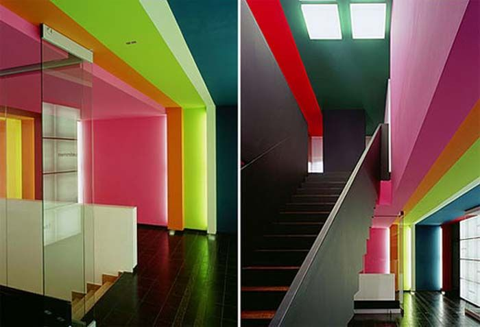 interior color schemes offices tetrad colours on pinterest office colors id=25653