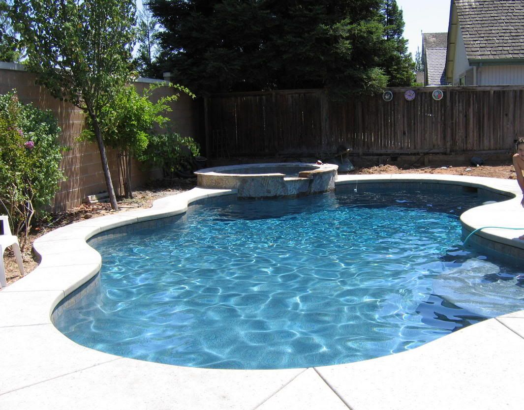 Small Backyard Pool Landscaping   Landscaping Ideas ... on Backyard Pool And Landscaping Ideas id=30765