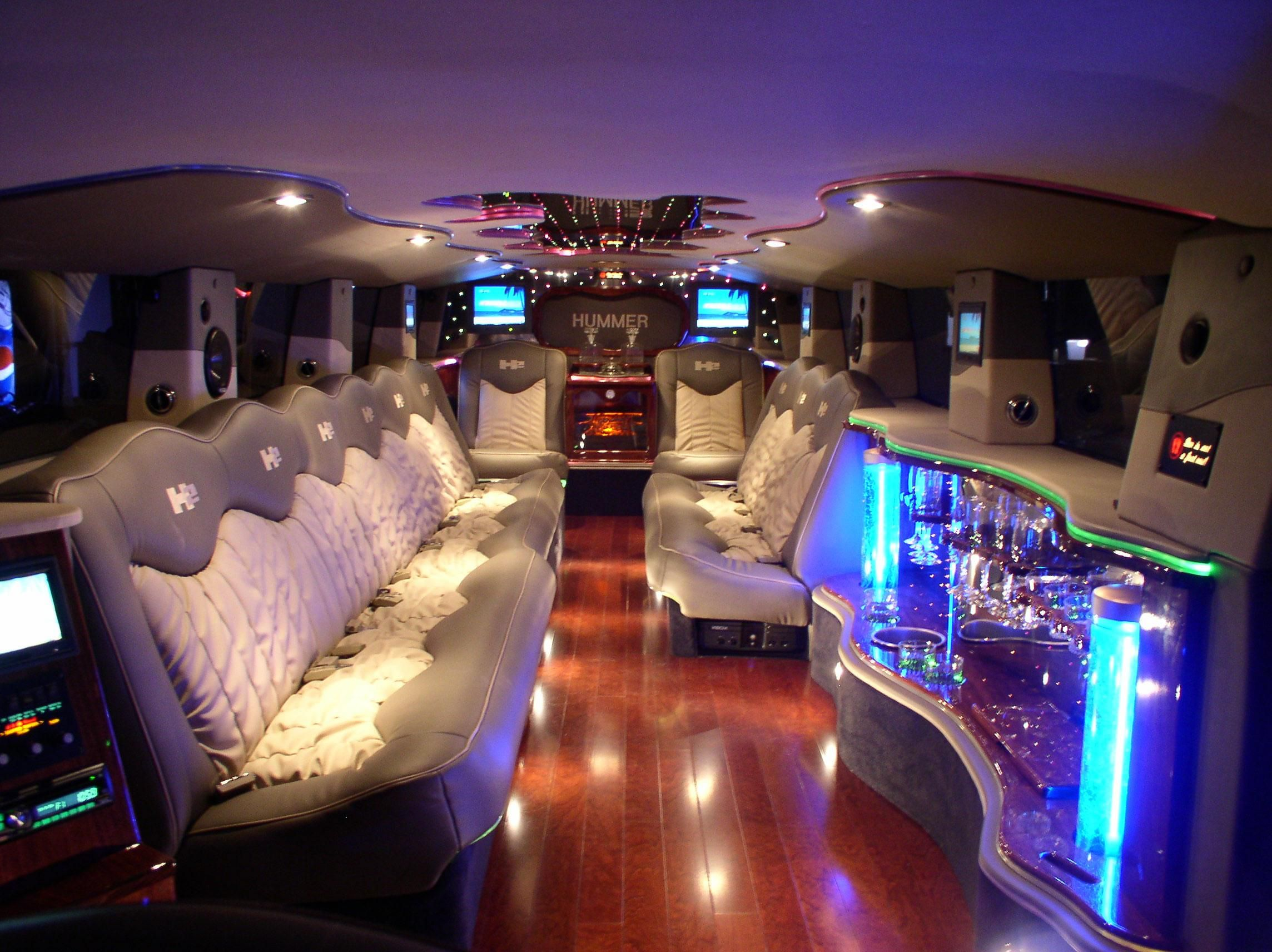 Very cool facilities have been developed in our Limousine Cars and