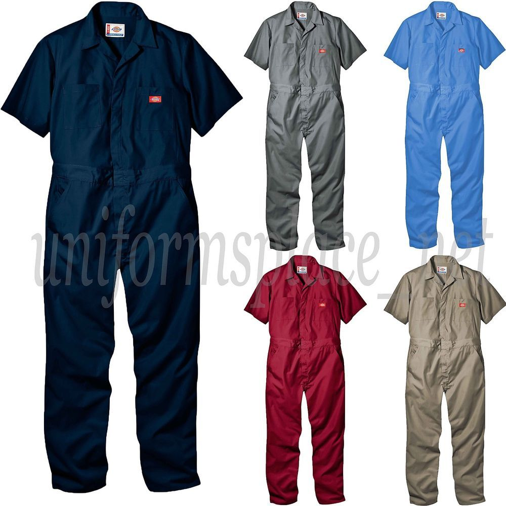 details about dickies coveralls mens short sleeve coverall on dickies coveralls id=56000