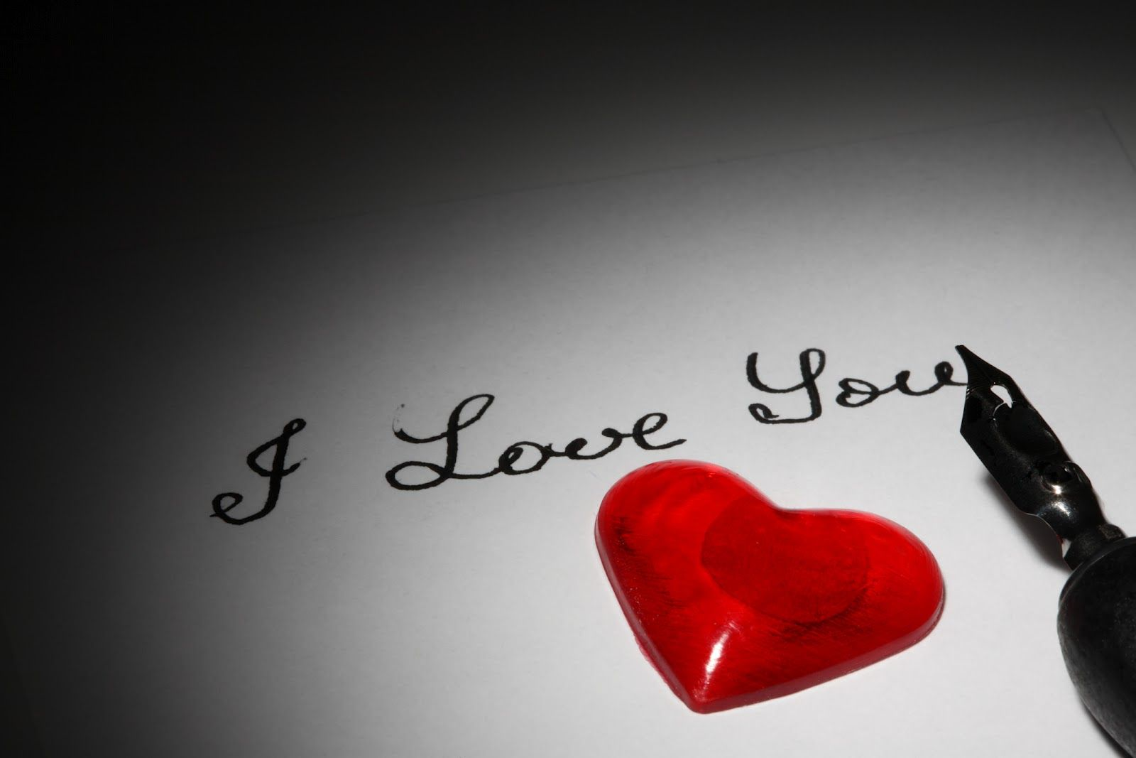 I Love You Handwriting Hd Wallpaper