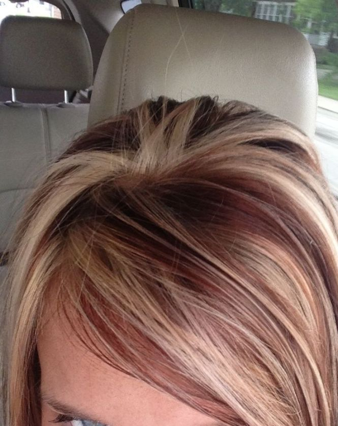 Blonde hair with light red highlights the best blonde hair 2017 best 20 red hair blonde highlights ideas on pmusecretfo Gallery
