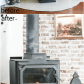 Simple DIY Concrete Hearth Over Tile Diy concrete Hearths and