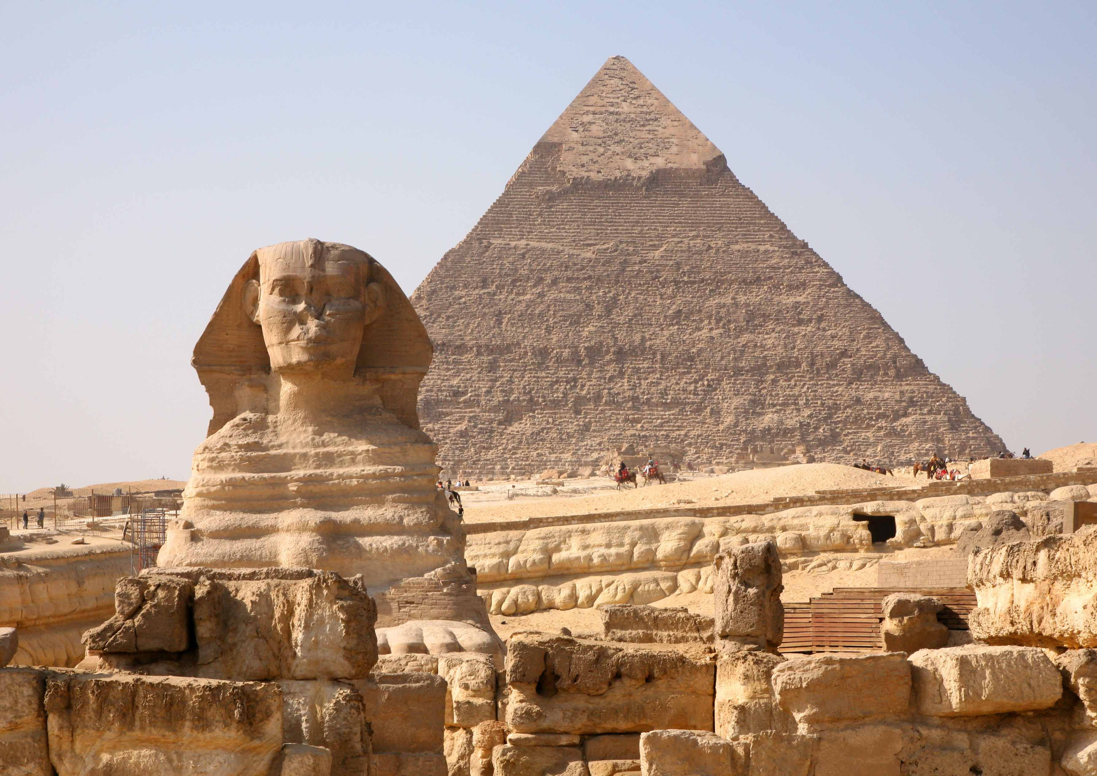 The Great Pyramids Of Egypt Are The Most Ancient Monuments